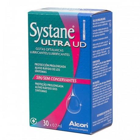 Systane Ultra UD gotas oftálmicas 30 monodosis