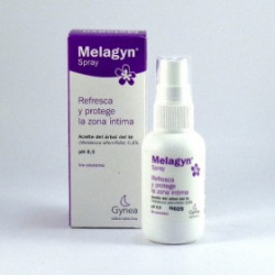 MELAGYN GEL HIGIENE INTIMA 200ML + MELAGYN SPRAY ALIVIO DEL PICOR Y ESCOZOR INTIMO 50ML