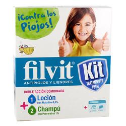 FILVIT KIT ANTIPIOJOS LOCIÓN 100 ML + CHAMPÚ 100ML