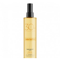 SENSILIS SUN SECRET BODY ACEITE SECO SPF30 200ML