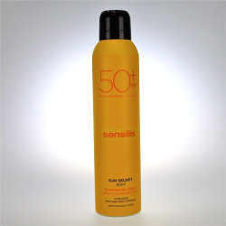 SENSILIS SUN SECRET PROTECTOR SOLAR SPF50+ SPRAY CORPORAL TRANSPARENTE 200ML