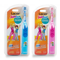 LACER JUNIOR CEPILLO DENTAL ELÉCTRICO AZUL O ROSA