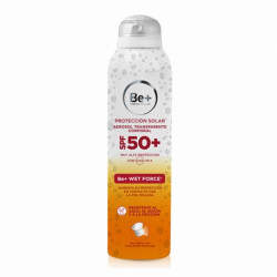 BE+ AEROSOL TRANSPARENTE CORPORAL SPF50+ 200ML
