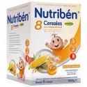 NUTRIBEN 8 CEREALES CON UN TOQUE DE MIEL DIGEST 600 G