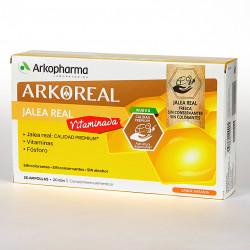 ARKOREAL JALEA REAL VITAMINADA, 20 AMPOLLAS