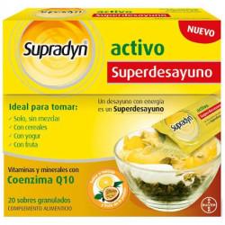 BAYER SUPRADYN ACTIVO SUPERDESAYUNO 20 SOBRES GRANULADOS
