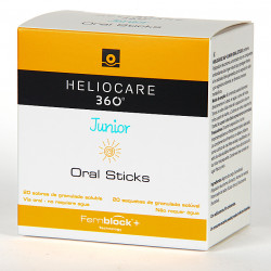 HELIOCARE 360 JUNIOR ORAL STICK 20 SOBRES