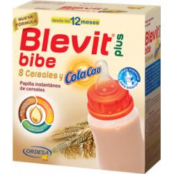 BLEVIT PLUS BIBE 8 CEREALES Y COLA CAO 600G