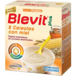 BLEVIT PLUS 8 CEREALES CON MIEL 600 GR