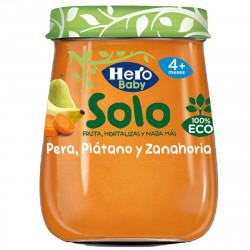HERO ECO SOLO BABY PERA, PLÁTANO Y ZANAHORIA 120G