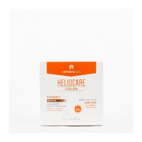 HELIOCARE SPF 50 COMPACTO COLOREADO BROWN 10 G