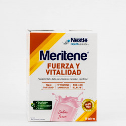 MERITENE 30G 15 SOBRES SABOR FRESA