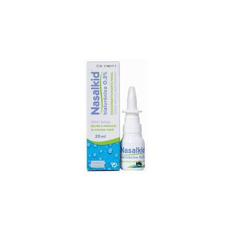 NASALKID DESCONGESTIONANTE NASAL SPRAY 20ML