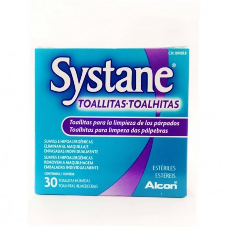 SYSTANE 30 TOALLITAS ESTÉRILES