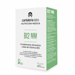 CANTABRIA LABS B12 NM 20 CÁPSULAS
