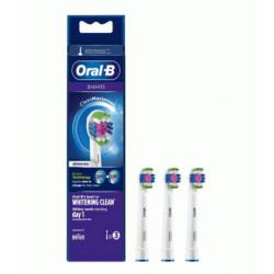 ORAL-B CABEZAL RECAMBIO 3D WHITE 3U