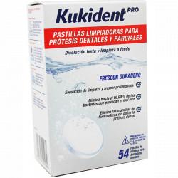 KUKIDENT PASTILLAS LIMPIADORAS 54 UDS