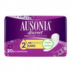 AUSONIA DISCREET MINI PÉRDIDA ORINA 20 UDS
