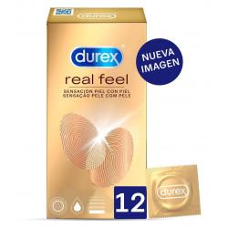 DUREX REAL FEEL 12 UNIDADES