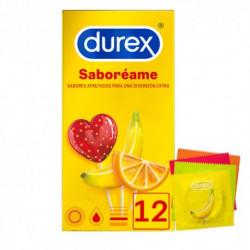 DUREX SABORÉAME 12 PRESERVATIVOS