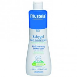 BABYGEL  GEL ESPUMOSO 750 ML MUSTELA