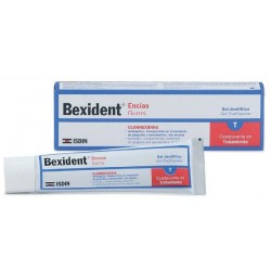 BEXIDENT ENCÍAS GEL DENTÍFRICO CLORHEXIDINA 75 ML