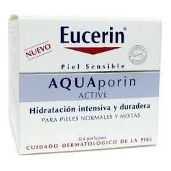 EUCERIN AQUAPORIN ACTIVE CREMA HIDRATANTE PIELES NORMALES/ MIXTAS 50 ML 15,30 €