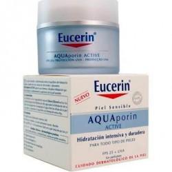 EUCERIN AQUAPORIN ACTIVE CREMA HIDRATANTE SPF 25 +UVA 50 ML